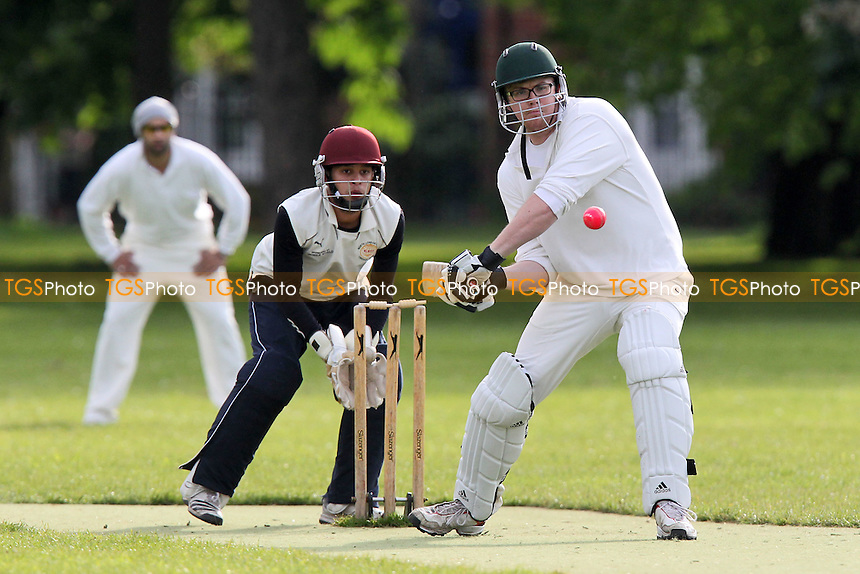 Junoon CC (fielding) vs Old Ranwellians CC - Victoria Park Community Cricket League at Victoria Park, London - 16/05/12 - MANDATORY CREDIT: Gavin Ellis/TGSPHOTO - Self billing applies where appropriate - 0845 094 6026 - contact@tgsphoto.co.uk - NO UNPAID USE.