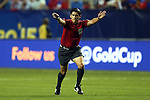 22 July 2015: Referee Ricardo Montero (CRC). The United States Men's National Team played the Jamaica Men's National Team at the Georgia Dome in Atlanta, Georgia in a 2015 CONCACAF Gold Cup semifinal match. Jamaica won the game 2-1.
