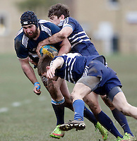 Action from the BUCS Premier South game between St Mary's and Oxford at St Mary's University, Twickenham on Wed Feb 4, 2015