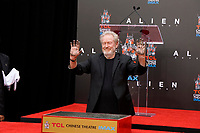 Ridley Scott Hand and Foot Print Ceremony