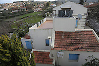 Pictured: The house next door to the house owned by the Hatton couple Wednesday 15 February 2017<br /> Re: John and Heather Hatton, expat couple in Greece who are unable to sell their house in the village of Vamos, Chania, Crete to return to the UK because their neighbour won't pay his taxes.<br /> Heather Hatton needs to return to the UK for urgent medical care.