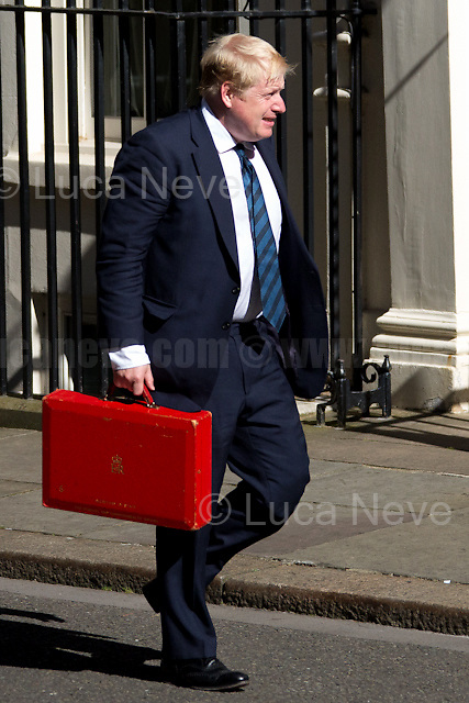 Boris Johnson MP (Secretary of State for Foreign and Commonwealth Affairs).<br /> <br /> London, 19/07/2016. First Cabinet meeting at 10 Downing Street (after the EU Referendum and consequent David Cameron's resignation) for the new Prime Minister Theresa May and her newly formed Conservative Government.<br /> <br /> For more information about the Cabinet Ministers: https://www.gov.uk/government/ministers