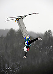 16 January 2009: Enver Ablaev from the Ukraine performs aerial acrobatics during the FIS Freestyle World Cup warm-ups at the Olympic Ski Jumping Facility in Lake Placid, NY, USA. Mandatory Photo Credit: Ed Wolfstein Photo. Contact: Ed Wolfstein, Burlington, Vermont, USA. Telephone 802-864-8334. e-mail: ed@wolfstein.net