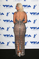 INGLEWOOD, CA - AUGUST 27: Bebe Rexha in the press room at the 2017 MTV Video Music Awards At The Forum in Inglewood, California on August 27, 2017. Credit: FS/MediaPunch