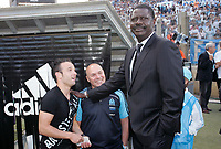 31st March 2020, France; It has been announced that Pape Diouf, ex-President of League 1 football club in France has died from Covid-19 Coroma Virus. FRENCH CHAMPIONSHIP 2008/2009 OLYMPIQUE MARSEILLE v STADE RENNAIS
