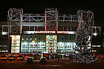 A Christmas Tree displayed outside the stadium before  the UEFA Europa League match at Old Trafford, Manchester. Picture date: November 24th 2016. Pic Matt McNulty/Sportimage