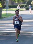 Lupe Cabada heads to the finish line as he wins the 51st Annual Journal Jog at Idlewild Park in Reno on Sunday, Sept. 8, 2019.
