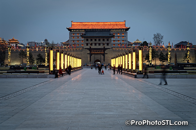 South Gate of the Old City in Xi'an, China