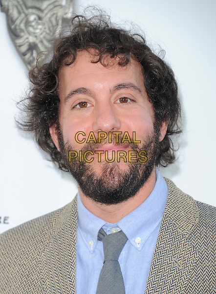 "Jonathan Kite.""The Book of Mormon"" Hollywood Opening night Held At The Pantages theatre, Hollywood, California, USA..September 12th, 2012.headshot portrait blue grey gray tie beard facial hair .CAP/DVS.©DVS/Capital Pictures."