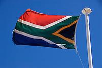 4415 / Suedafrika: AFRIKA, SUEDAFRIKA, 09.01.2007:Flagge der Republik Suedafrika