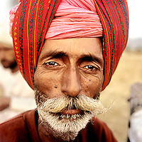 Bowerram Raika. The Raika are an ancestral caste of camel breeders in Rajasthan. Due to the increased cost of feeding and shelter, more and more Raika are being forced to sell off their camels, often for camel meat, which was once considered taboo.