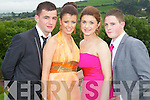 Ross McCarthy, Kate Mansfield, Remy Horan and Brandon Evans pictured at the Pres Tralee debs in Ballyroe Heights Hotel on Wednesday, August 8th..