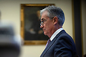 Chair of the Federal Reserve Jerome Powell testifies before the House Financial Services Committee on Capitol Hill in Washington D.C., U.S. on July 10, 2019.<br /> <br /> Credit: Stefani Reynolds / CNP