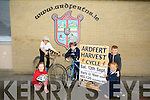 Students Ethan Fitzgerald, Lauren O'Sullivan, Dylan O'Sullivan  Tiernan O'Sullivan and Sarah Bodenham launch the Ardfert Harvest Cycle to raise funds for Ardfert National School at 10am Saturday 13th September