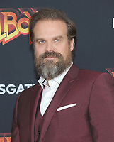 NEW YORK, NEW YORK - APRIL 09: David Harbour attends the 'Hellboy' New York Screening at AMC Lincoln Square Theater on April 09, 2019 in New York City.  <br /> CAP/MPI/JP<br /> ©JP/MPI/Capital Pictures