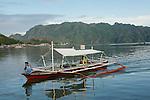 Ile de Coron dans l'archipel de Calamian. Philippines.