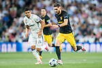 Yannick Ferreira Carrasco of Atletico de Madrid in action during their 2016-17 UEFA Champions League Semifinals 1st leg match between Real Madrid and Atletico de Madrid at the Estadio Santiago Bernabeu on 02 May 2017 in Madrid, Spain. Photo by Diego Gonzalez Souto / Power Sport Images