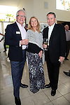 PALM SPRINGS - APR 27: Dan Kitowski, Meg Thomas, John Holly at a cultivation event for The Actors Fund at a private residence on April 27, 2016 in Palm Springs, California