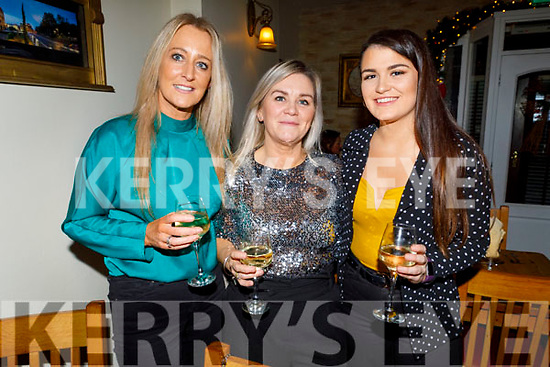Shirley O'Brien, Marie and Sarah Sheehan enjoying Women's Christmas in Bella Bia on Monday.