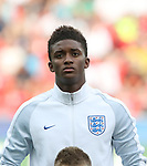 England's Demarai Gray in action during the UEFA Under 21 Semi Final at the Stadion Miejski Tychy in Tychy. Picture date 27th June 2017. Picture credit should read: David Klein/Sportimage