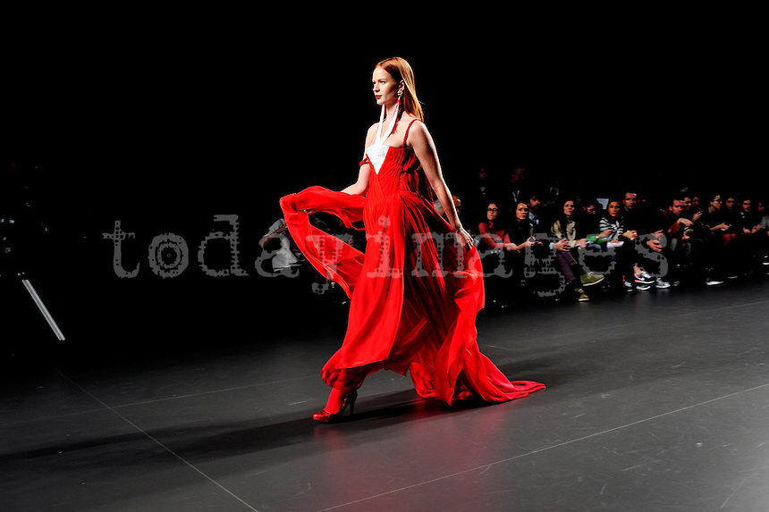 Eugenio Loarce at Mercedes-Benz Fashion Week Madrid 2013