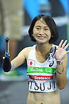 Sae Tsuji (JPN),<br /> SEPTEMBER 11, 2016 - Athletics : <br /> Women's 100m T47 Final <br /> at Olympic Stadium<br /> during the Rio 2016 Paralympic Games in Rio de Janeiro, Brazil.<br /> (Photo by AFLO SPORT)