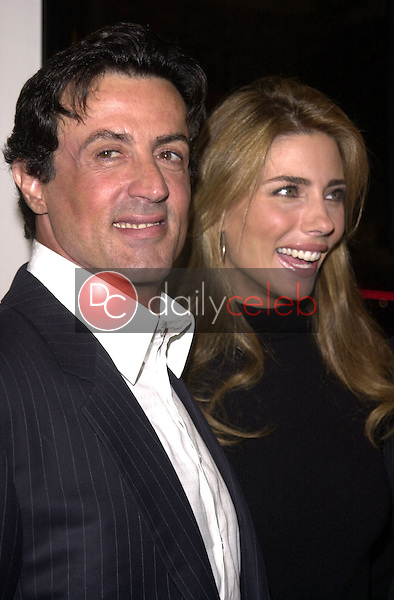 Sylvester Stallone and Jennifer