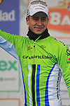Peter Sagan (SVK) Cannondale in 2nd place on the podium at the end of the 56th edition of the E3 Harelbeke, Belgium, 22nd  March 2013 (Photo by Eoin Clarke 2013)
