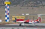 "Robert ""Hoot"" Gibson in his plane Strega won the Unlimited Championship during the National Championship Air Races at the Reno-Stead Airfield Sunday, Sept. 20, 2015."