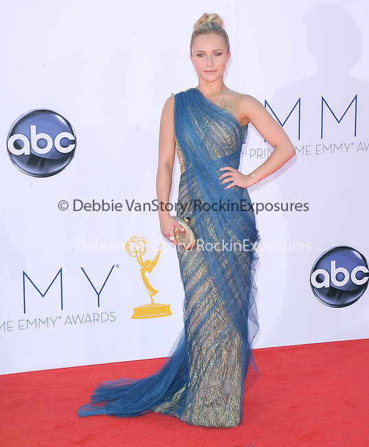 Hayden Panettiere at The 64th Anual Primetime Emmy Awards held at Nokia Theatre L.A. Live in Los Angeles, California on September  23,2012                                                                   Copyright 2012 Hollywood Press Agency