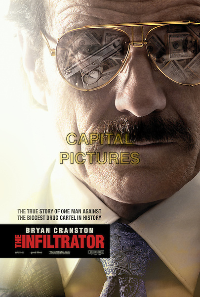The Infiltrator (2016) <br /> POSTER ART<br /> *Filmstill - Editorial Use Only*<br /> CAP/KFS<br /> Image supplied by Capital Pictures