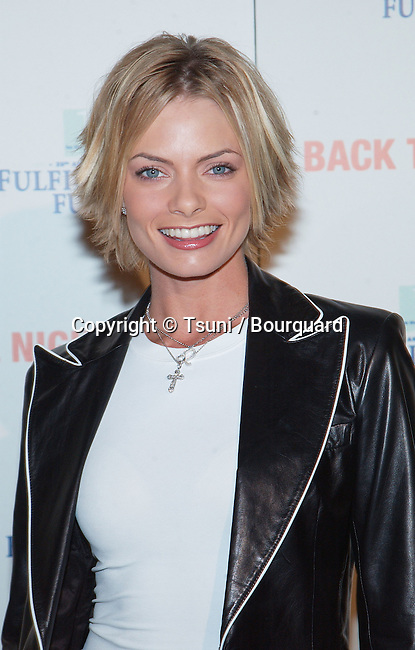"Jaime Pressly arriving at the Fulfillement Fund's College ""Back to school"" at the Jim Henson Studios in Los Angeles. February 8, 2002.           -            PresslyJaime02.jpg"