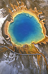 Grand Prismatic Geyser Yellowstone NP.