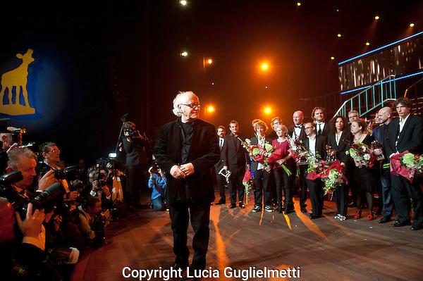 Utrecht , october 5, 2012.NFF Utrecht, .Uitreiking Gouden Kalf.Jos Stelling...Photo: Lucia Guglielmetti