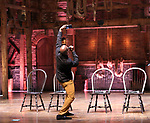 Justin Dine Bryant during the an eduHAM Q & A panel with the cast of Broadway's 'Hamilton' at The Richard Rodgers Theatre on May 23, 2018 in New York City.