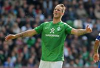 FUSSBALL   1. BUNDESLIGA   SAISON 2011/2012   34. SPIELTAG SV Werder Bremen - FC Schalke 04                       05.05.2012 Marko Arnautovic (SV Werder Bremen)  ist enttaeuscht