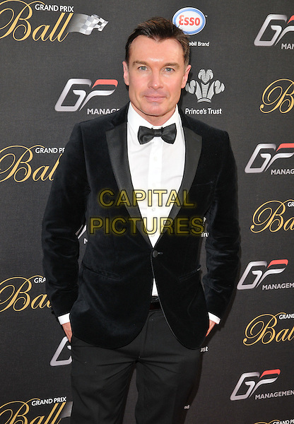 LONDON, ENGLAND - JULY 01: Greg Burns attends the Grand Prix Ball, The Hurlingham Club, Ranelagh Gardens, on Wednesday July 01, 2015 in London, England, UK. <br /> CAP/CAN<br /> &copy;CAN/Capital Pictures