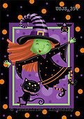 Janet, CUTE ANIMALS, halloween, paintings+++++,USJS394,#ac#