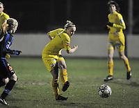 Club Brugge Dames - WB Sinaai Girls : Wiene Van Guyse.foto DAVID CATRY / Vrouwenteam.be