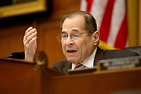 United States Representative Jerrold Nadler (Democrat of New York) speaks at a hearing on the 9-11 Victims fund before the Judiciary subcommittee on Capitol Hill in Washington D.C. on June 11, 2019.<br /> <br /> Credit: Stefani Reynolds / CNP/AdMedia