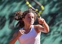 Hilversum, Netherlands, August 10, 2016, National Junior Championships, NJK, Carmen van Poelgeest (NED)<br /> Photo: Tennisimages/Henk Koster