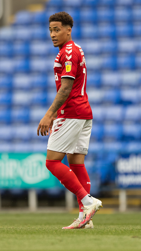 Middlesbrough's Marcus Tavernier<br /> <br /> \Photographer David Horton/CameraSport<br /> <br /> The EFL Sky Bet Championship - Reading v Middlesbrough - Tuesday July 14th 2020 - Madejski Stadium - Reading<br /> <br /> World Copyright © 2020 CameraSport. All rights reserved. 43 Linden Ave. Countesthorpe. Leicester. England. LE8 5PG - Tel: +44 (0) 116 277 4147 - admin@camerasport.com - www.camerasport.com