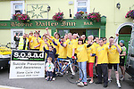 at the start of the SOSAD Charity Cycle...Photo NEWSFILE/Jenny Matthews.(Photo credit should read Jenny Matthews/NEWSFILE)....This Picture has been sent you under the condtions enclosed by:.Newsfile Ltd..The Studio,.Millmount Abbey,.Drogheda,.Co Meath..Ireland..Tel: +353(0)41-9871240.Fax: +353(0)41-9871260.GSM: +353(0)86-2500958.email: pictures@newsfile.ie.www.newsfile.ie.FTP: 193.120.102.198.