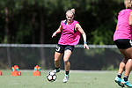 CARY, NC - JUNE 01: Kristen Hamilton. The North Carolina Courage held a training session on June 1, 2017, at WakeMed Soccer Park Field 7 in Cary, NC.