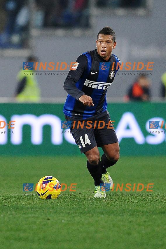 Fredy Guarin Inter.15/12/2012 Roma.Stadio Olimpico.Football Calcio 2012 / 2013 .Campionato di Calcio Serie A.Lazio vs Inter.Foto Insidefoto / Antonietta Baldassarre.