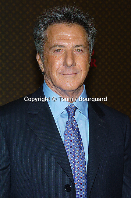 Dustin Hoffman arriving at the  Louis Vuitton United Cancer Gala Event on The Universal Lot in Los Angeles. November 8, 2004.