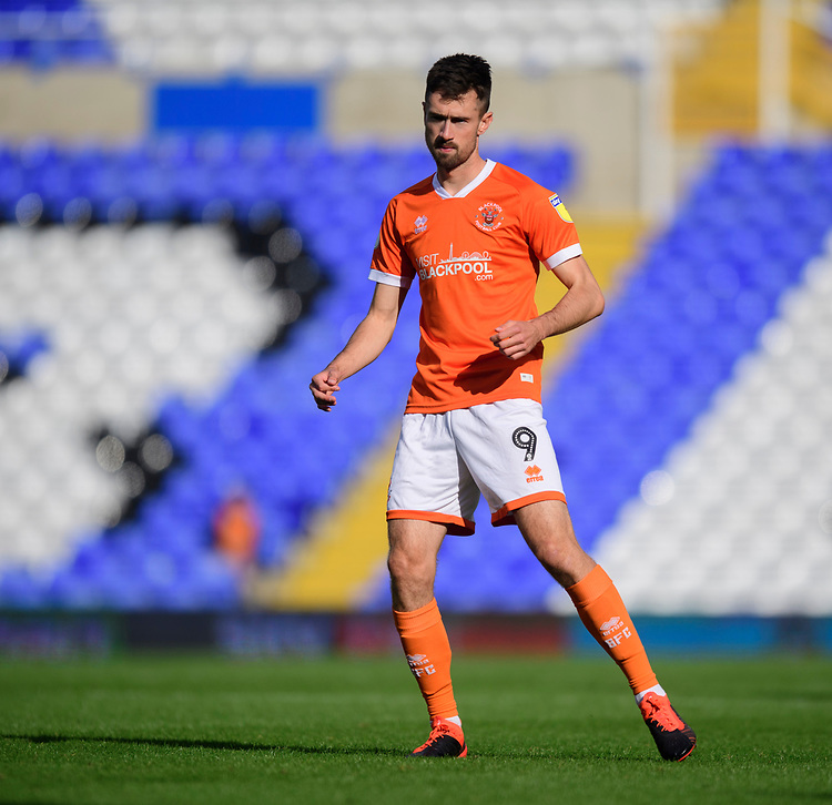 Blackpool's Ryan Hardie<br /> <br /> Photographer Chris Vaughan/CameraSport<br /> <br /> The EFL Sky Bet League One - Coventry City v Blackpool - Saturday 7th September 2019 - St Andrew's - Birmingham<br /> <br /> World Copyright © 2019 CameraSport. All rights reserved. 43 Linden Ave. Countesthorpe. Leicester. England. LE8 5PG - Tel: +44 (0) 116 277 4147 - admin@camerasport.com - www.camerasport.com
