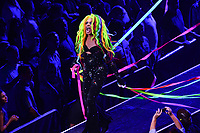 Brooklyn, NY - June 26, 2019: Drag entertainer Yvie Oddly from RuPaul's Drag Race performs during the opening ceremony for NYC World Pride at the Barclays Center in Brooklyn, New York June 26, 2019.  (Photo by Don Baxter/Media Images International)