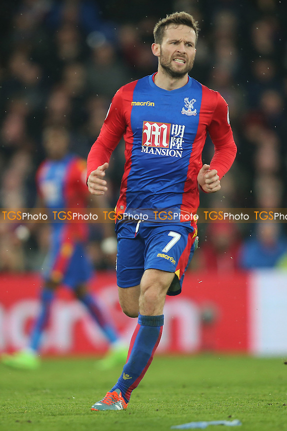 Yohan Cabaye of Crystal Palace during Crystal Palace vs Middlesbrough, Premier League Football at Selhurst Park on 25th February 2017