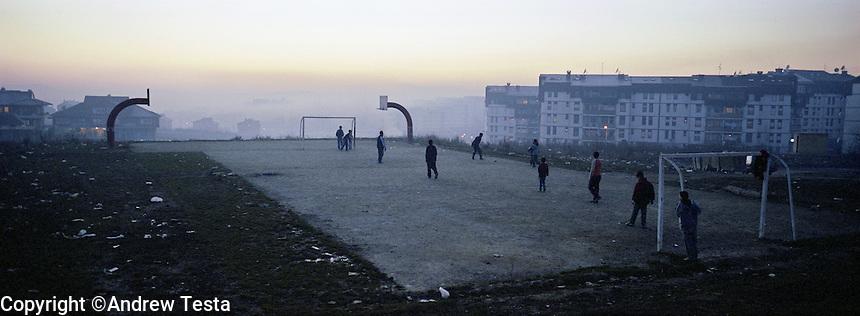 Kosovo. March 2007..©Andrew Testa/Panos